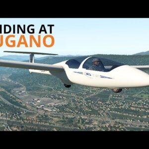 X-Plane 11 + Oculus Rift | Gliding At Lugano | ASK21 Glider