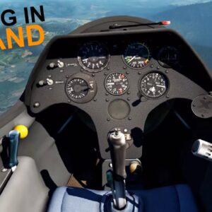X-Plane 11 + Oculus Rift | Gliding in Poland | ASK 21