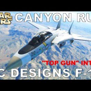 DC Designs F14 A/B Tomcat | Sidewinder Route Run | Just Flight | Microsoft Flight Simulator