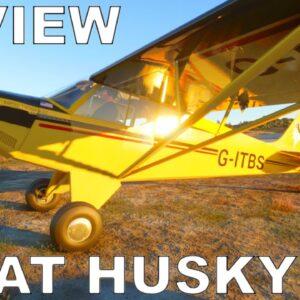 Aviat Husky A-1C Asobo | Review Flight | Microsoft Flight Simulator