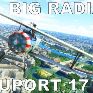 Big Radials Nieuport 17 | Full Review | Microsoft Flight Simulator