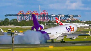 FedEx MD-11 Goes Around after Touchdown | Whats the reason?