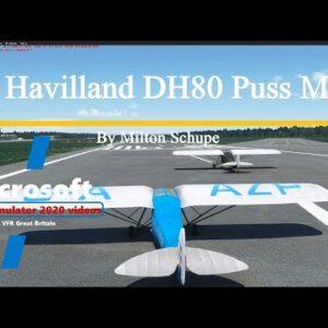 Microsoft Flight Simulator 2020 De Havilland DH80 Puss Moth - FSX to MSFS2020 - Beautiful Model!