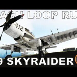Mach Loop Time Trial | P3D V5 | #9 A-1H Skyraider (MILVIZ)