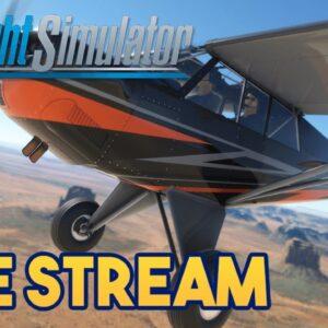 Microsoft Flight Simulator 2020 -  ASOBO HUSKY TEST DRIVE