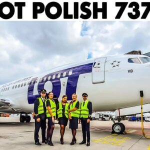 LOT POLISH AIRLINES🇵🇱 joins Just Planes | Boeing 737MAX Cockpit Trailer