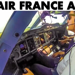 Air France🇫🇷 AIRBUS A380 Uses Entire Runway to Liftoff✈️