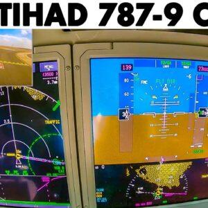 ETIHAD🇦🇪 Boeing 787-9 Cairo🇪🇬 Takeoff | Instrument View