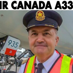 AIR CANADA A330-300 out of Toronto + Walkaround & Flight Preparations