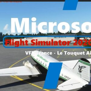 Microsoft Flight Simulator 2020 Along the Opal Coast - Le Touquet Airport - France - DC3 Dakota - PC