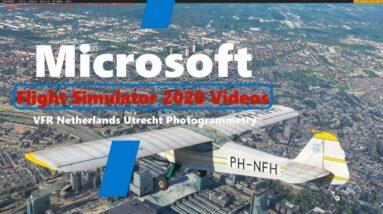 Microsoft Flight Simulator 2020 Netherlands VFR Photogrammetry - Great Quality - Utrecht