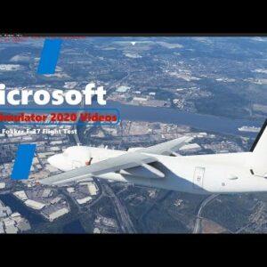 Microsoft Flight Simulator 2020 Fokker F-27 FSX to MSFS2020 Flight Test