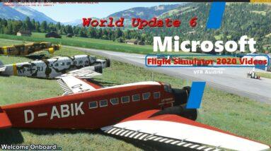 Microsoft Flight Simulator 2020 World Update 6 | Austria | New Terrain Mesh