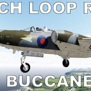 Mach Loop Time Trial | P3D V5 | #10 Blackburn Buccaneer (UKMIL)
