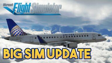 Microsoft Flight Simulator 2020 BIG SIM UPDATE