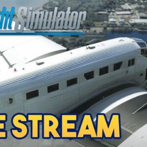 Microsoft Flight Simulator 2020 -  JU-52 NORTH AFRICA CAMPAIGN