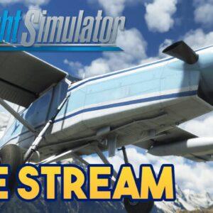 Microsoft Flight Simulator 2020 -  MOUNTAIN FLYING/CRASHING