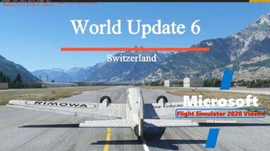 Microsoft Flight Simulator 2020 | Sim Update 6 | Switzerland