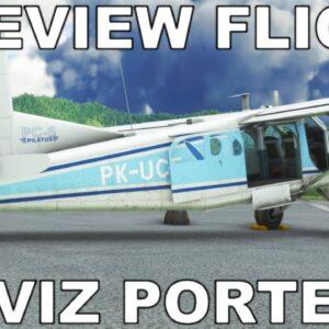 MILVIZ PC-6 Porter | Full Review | Cargo Run | Microsoft Flight Simulator