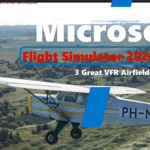 Microsoft Flight Simulator 2020 | 3 Great Default Airfields for all VFR Pilots |