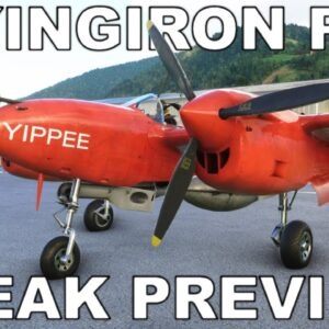 FlyingIron Simulations P-38 Lightning | Sneak Preview! | Microsoft Flight Simulator