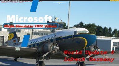 Microsoft Flight Simulator 2020 World Update 6 Germany - Lubeck Handcrafted Airport - Game Settings