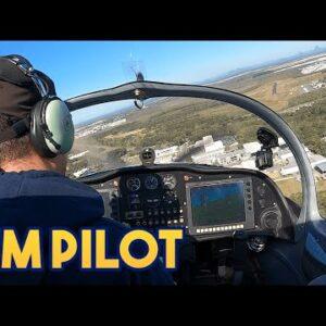 Sim PILOT flies REAL plane - RANDOM LANDINGS