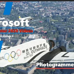 Microsoft Flight Simulator 2020 World Update 6 Photogrammetry - Berlin, Germany - Good Performance