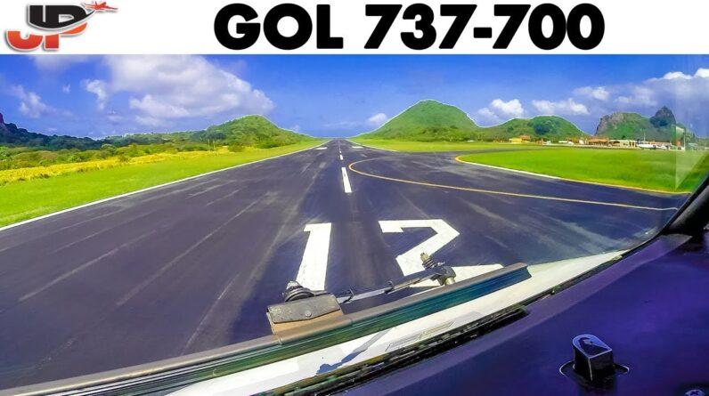 GOL🇧🇷 Boeing 737-700 departure from Brazil's Paradise Island + Walkaround
