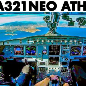 AEGEAN🇬🇷 Airbus A321NEO landing at Athens Airport