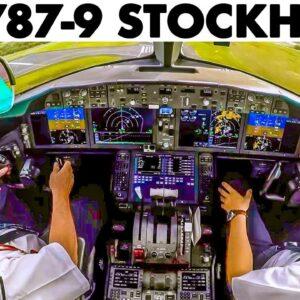 BOEING 787-9 Takeoff from Stockholm Arlanda Airport🇸🇪