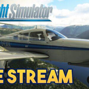 Microsoft Flight Simulator 2020 -  70K SUBSCRIBER CELBRATION - STREAM 4