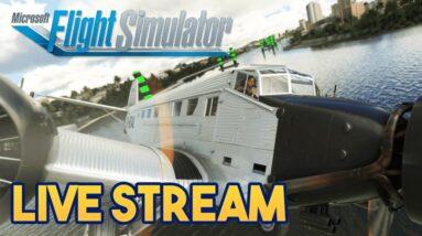 Microsoft Flight Simulator 2020 -  70K SUBSCRIBER CELBRATION - STREAM 7