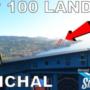 Top 100 Landing Challenge | Funchal | Microsoft Flight Simulator